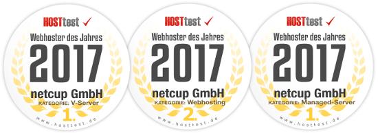 Netcup ist wiederholt Sieger bei Hosttest.de