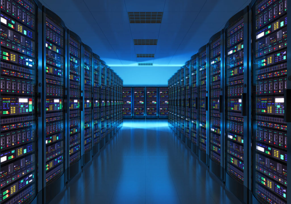 Webhosting Serverraum